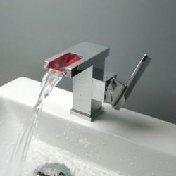 Смеситель- водопад с подсветкой Argos