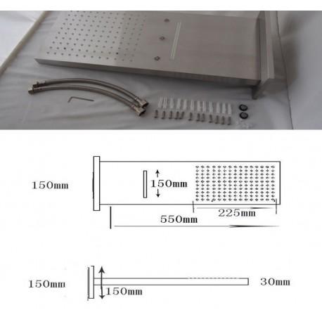 Душевой комплект (душ 200х200)