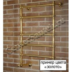 Полотенцесушитель электрический Margaroli Vento 500C золото