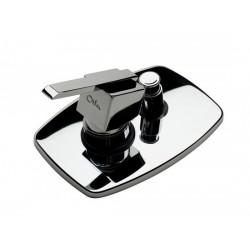 Двухпозиционный смеситель для ванной Otler Cube
